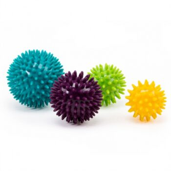 set de 4 balles de massage
