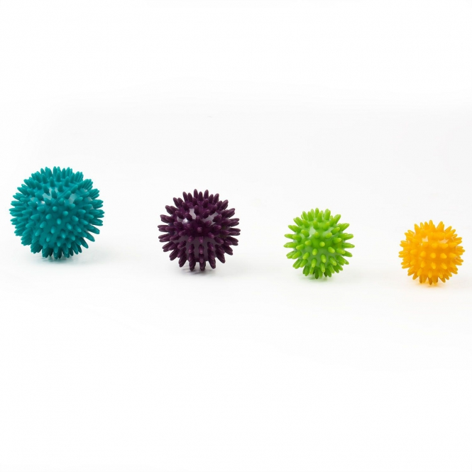 set de 4 balles de massage