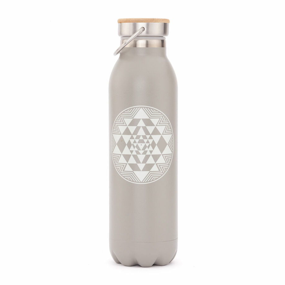 bouteille isotherme inox 600 ml gris