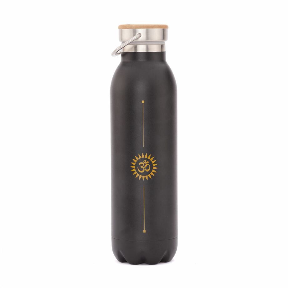 bouteille isotherme inox 600 ml noir