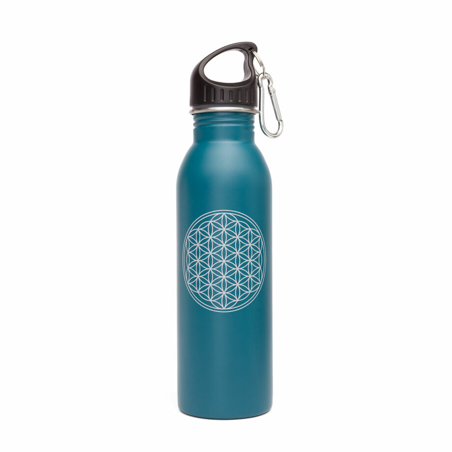 bouteille isotherme inox petrole
