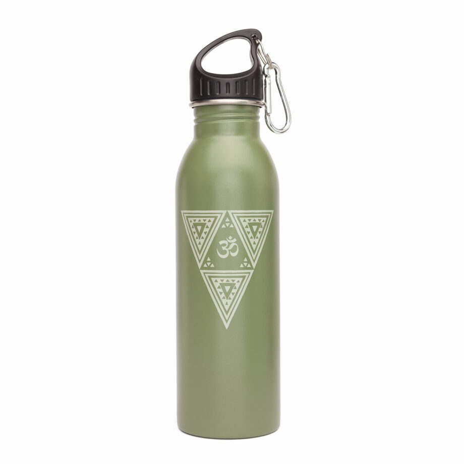 bouteille isotherme inox vert