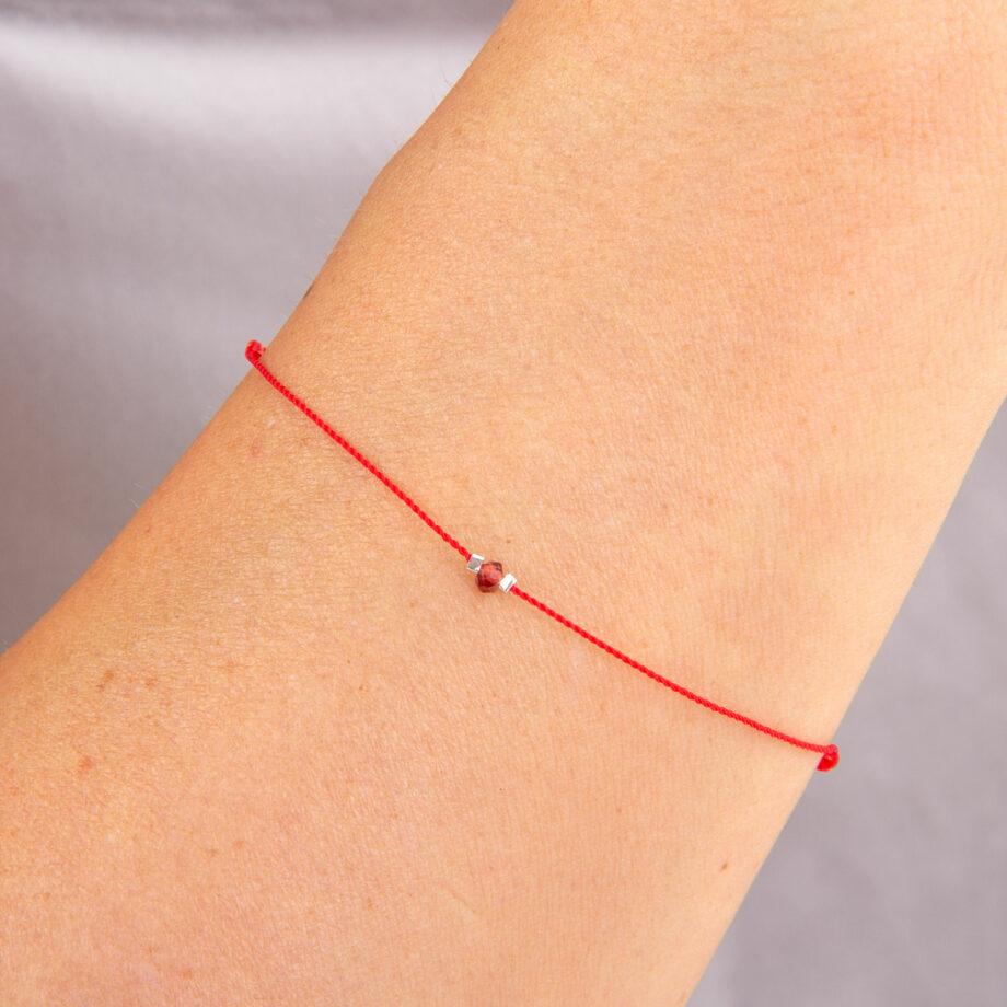 bracelet chakra grenat
