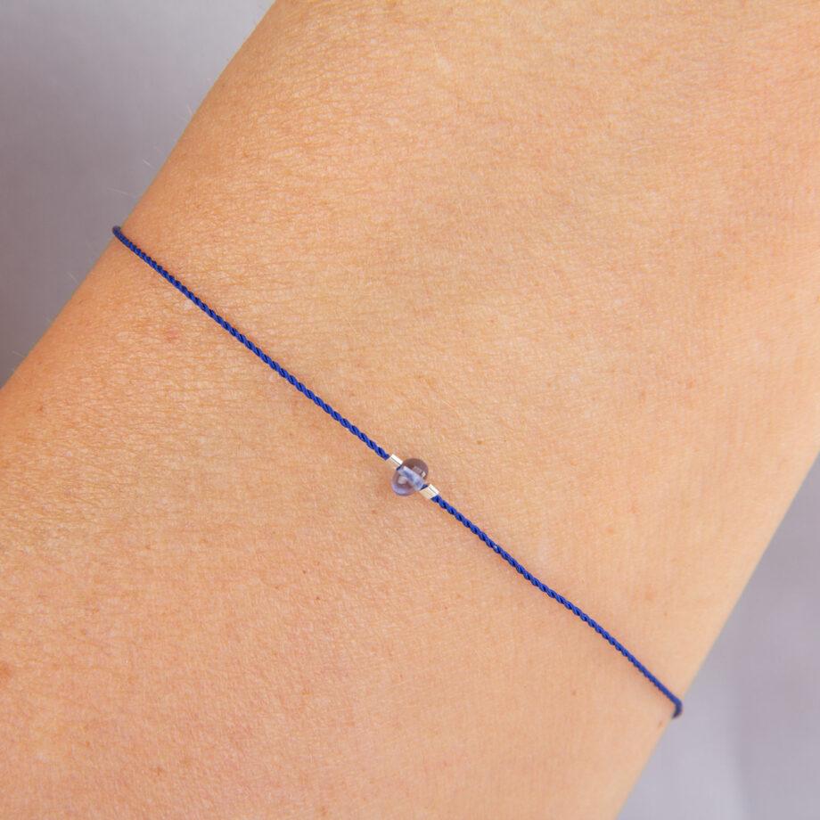 bracelet chakra lolite