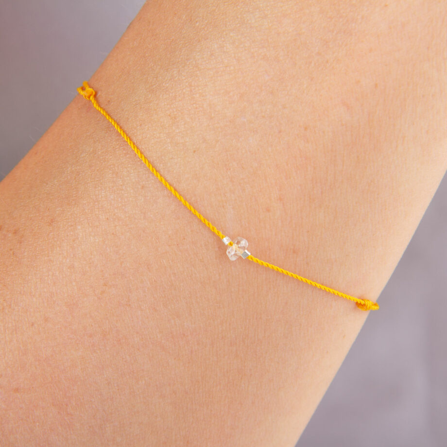 bracelet chakra topaze imperiale