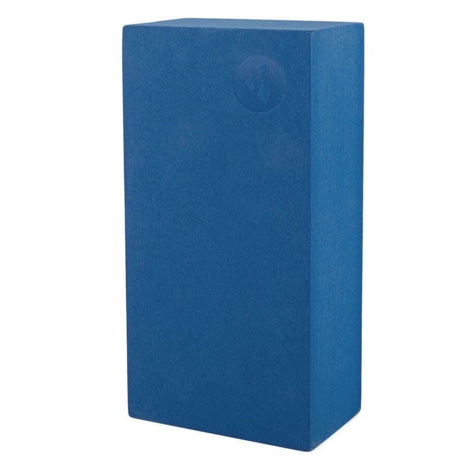 brique de yoga asana bleu