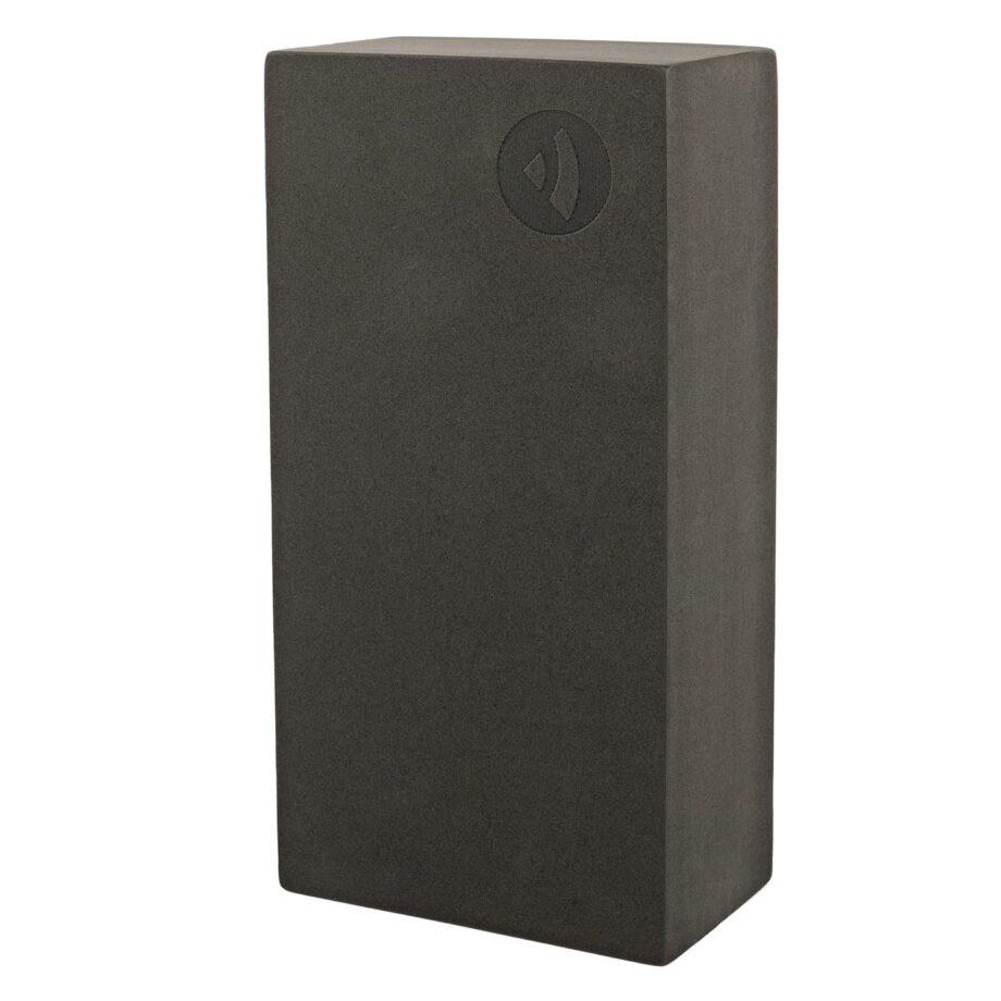 brique de yoga asana noir