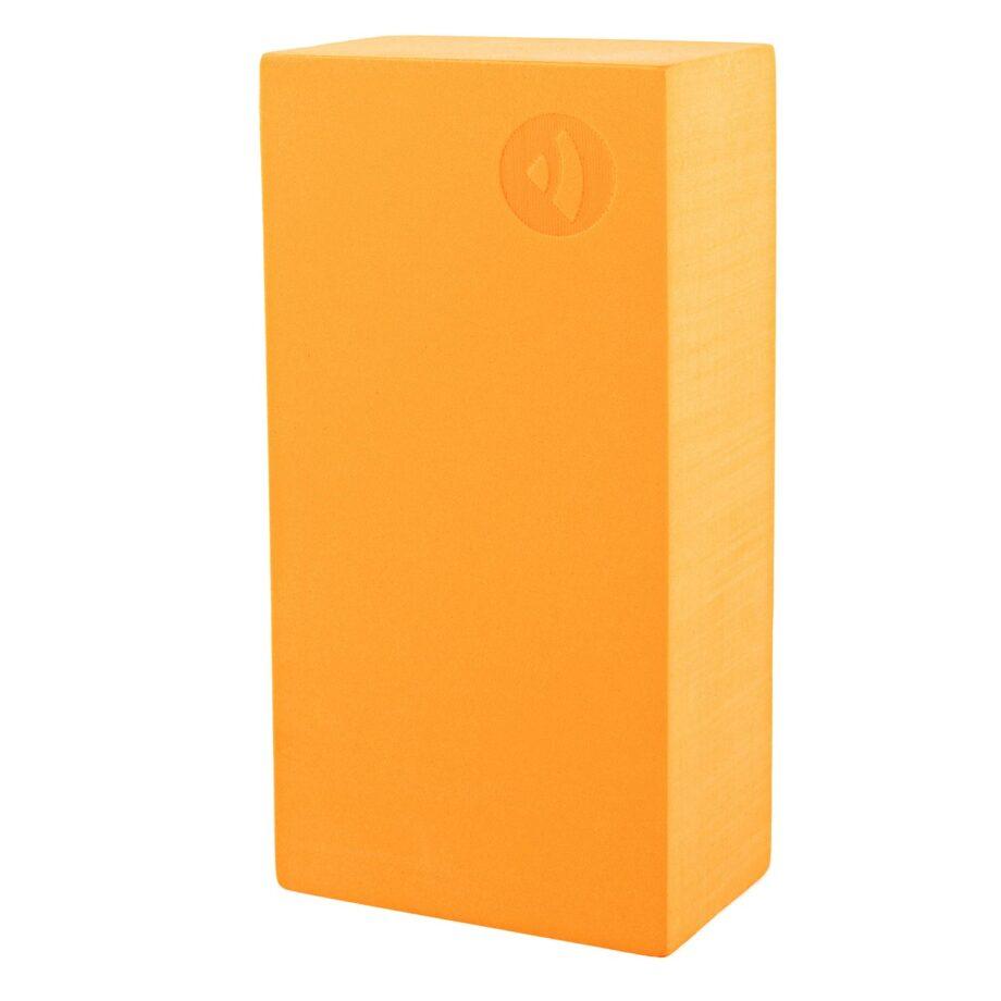 brique de yoga asana orange