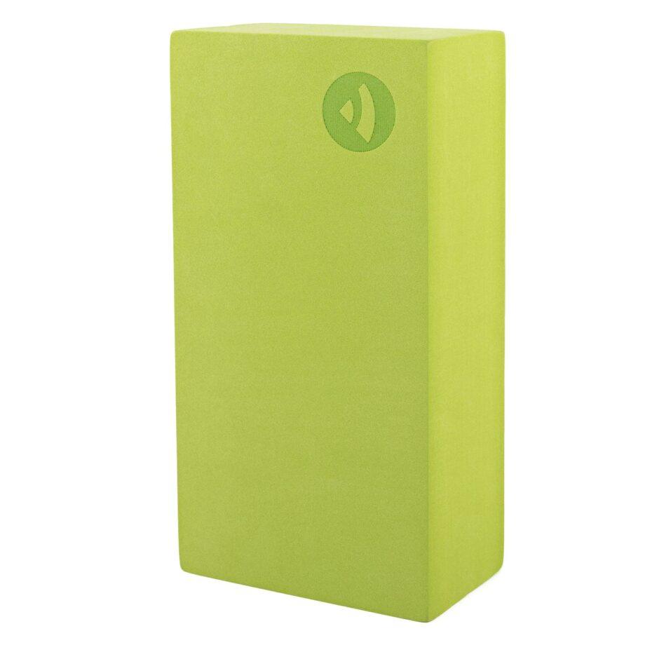 brique de yoga asana vert