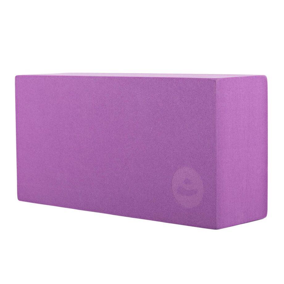 brique de yoga asana violet