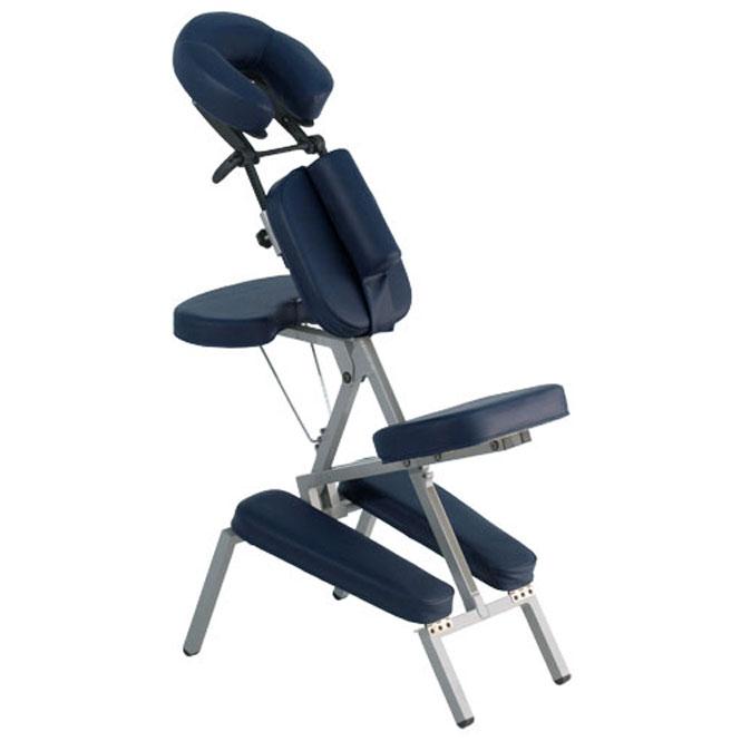 chaise de massage ergo deluxe bleu
