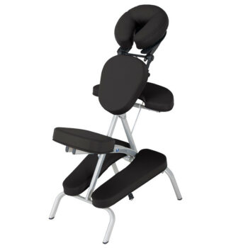 chaise de massage pliante Vortex noir