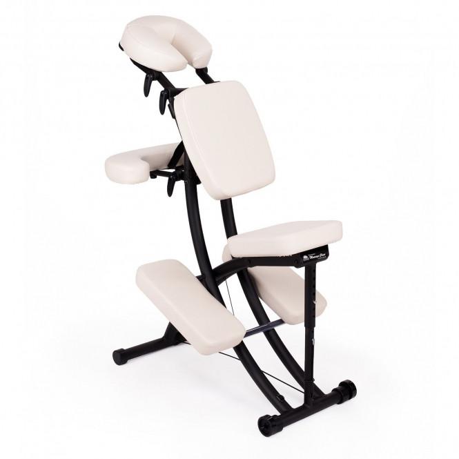 chaise de massage assis portal pro oakworks blanc