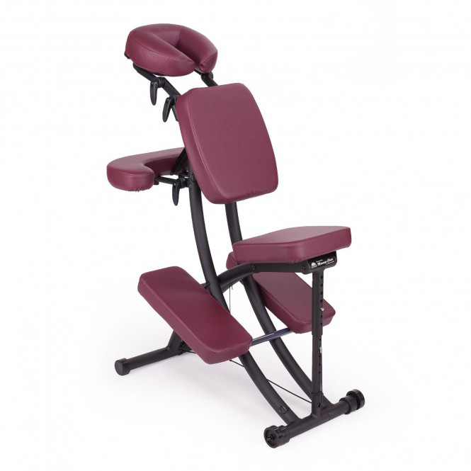 chaise de massage assis portal pro oakworks rubis
