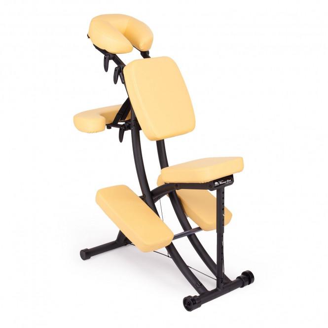 chaise de massage assis portal pro oakworks safran