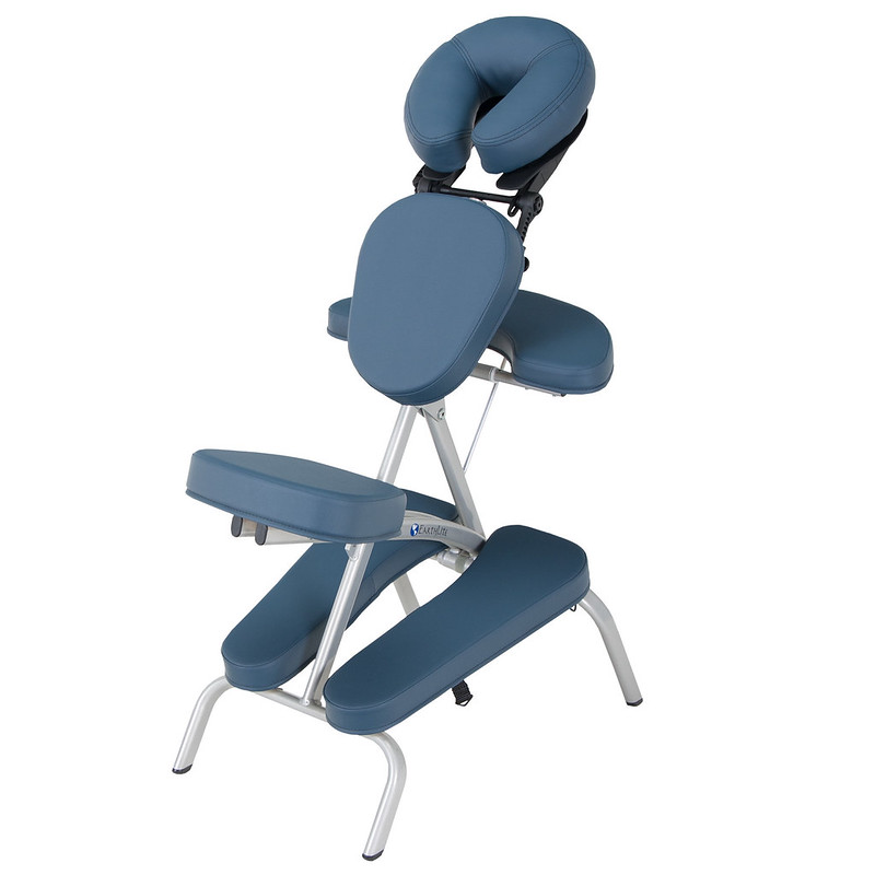 chaise de massage pliante vortex mystic blue