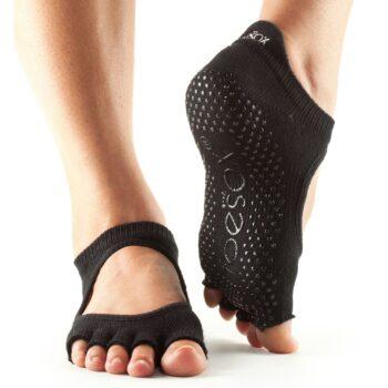 chaussette orteils mi couverts ballerine