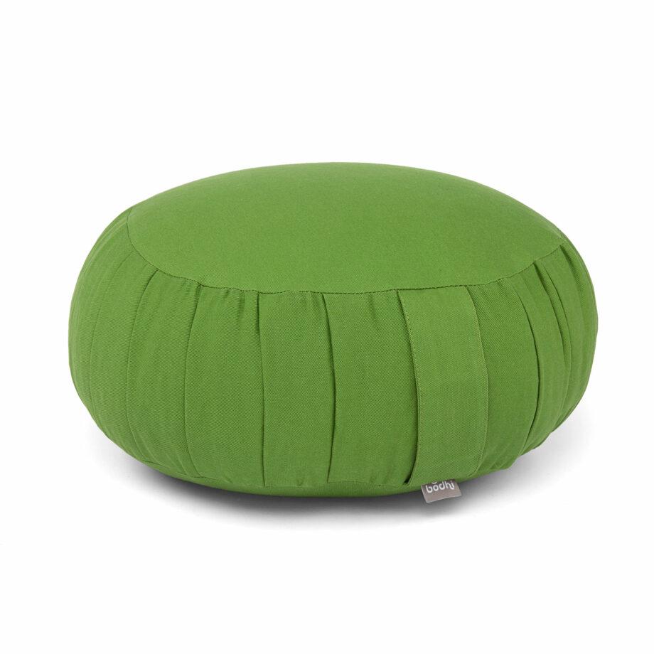 coussin de meditation zafu vert