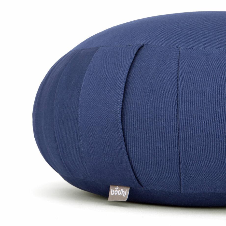 coussin de meditation zafu bleu