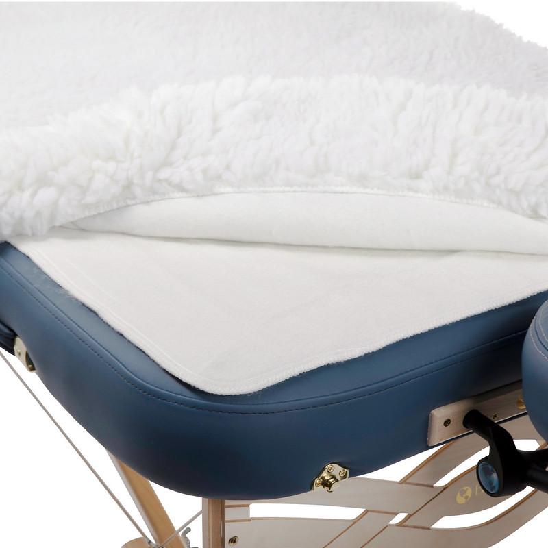couverture chauffante deluxe table de massage