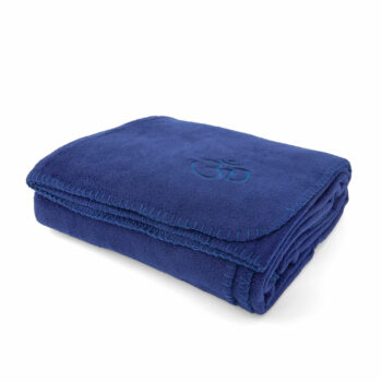 couverture polaire asana bleu