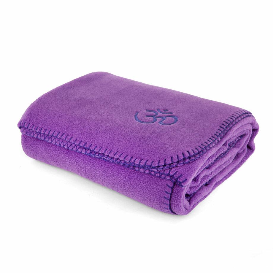 couverture polaire asana violet