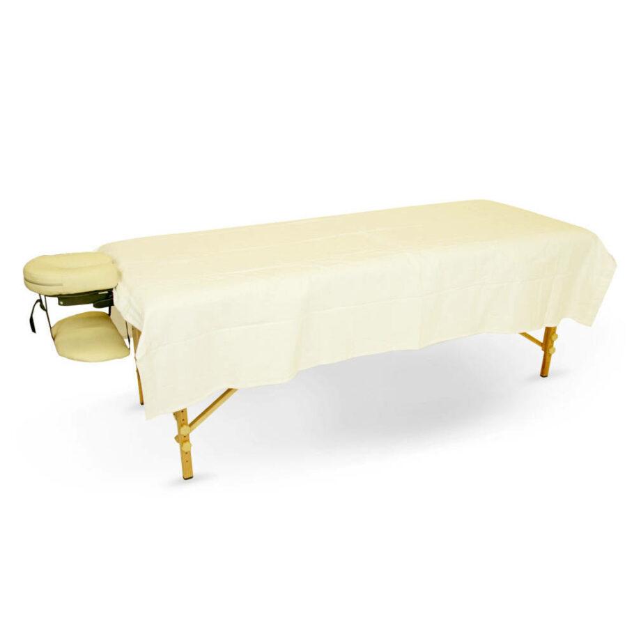 drap plat coton flanelle