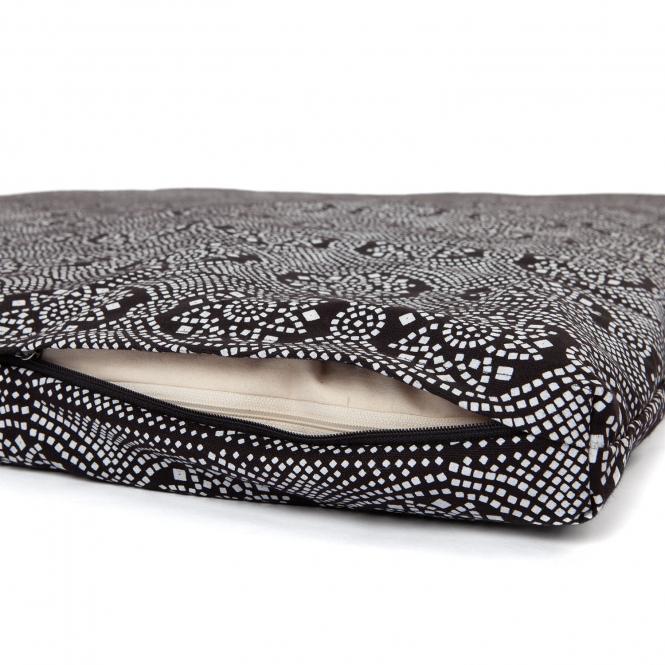 futon de shiatsu transportable ma Maharaja noir