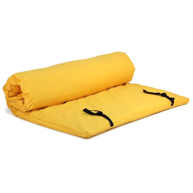 futon shiatsu massage jaune
