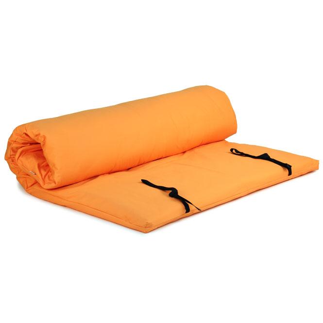 futon shiatsu massage orange