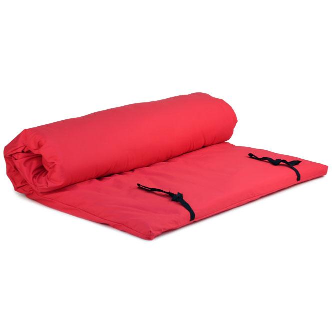 futon shiatsu massage rouge