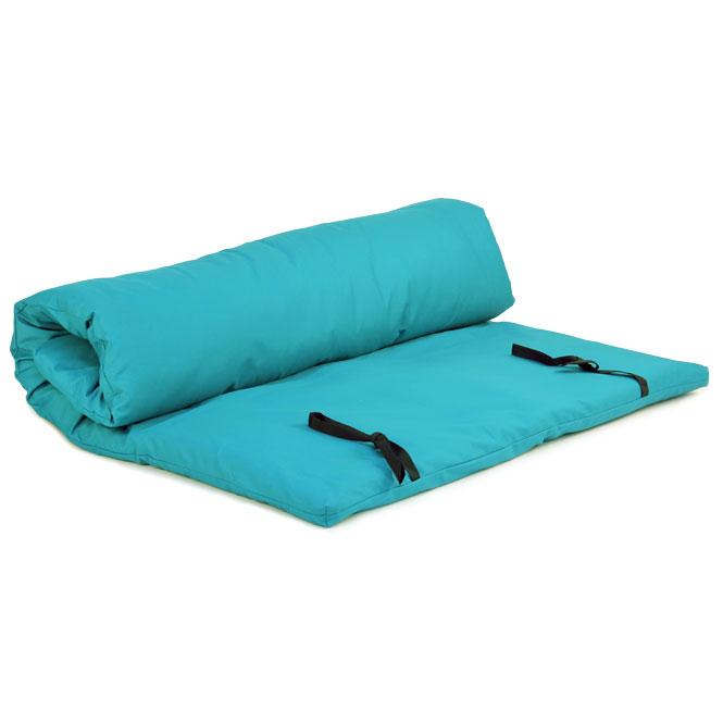 futon shiatsu massage turquoise