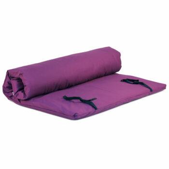 futon shiatsu massage violet