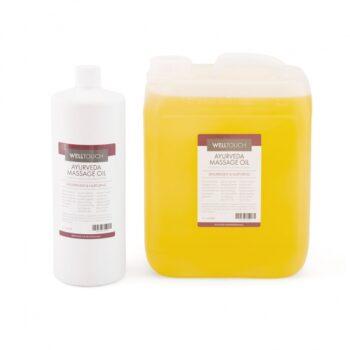 huile de massage ayurvedique