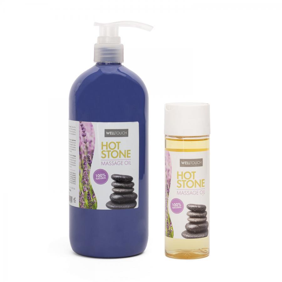 huile de massage pierres chaudes