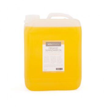 huile de masasge tournesol