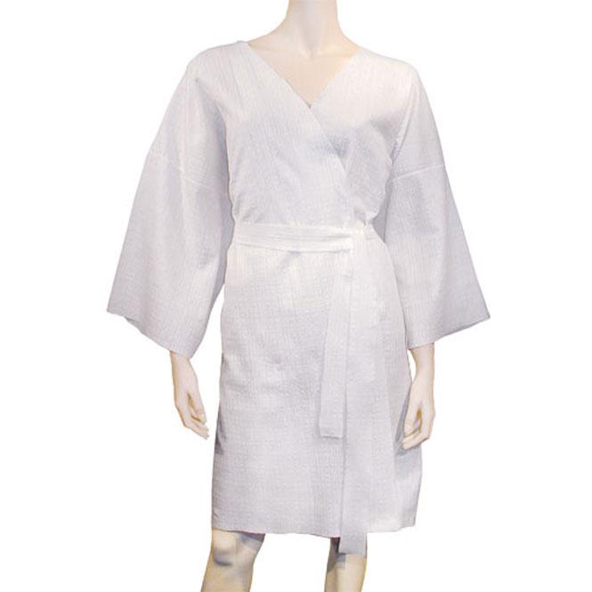 kimono peignoir jetable