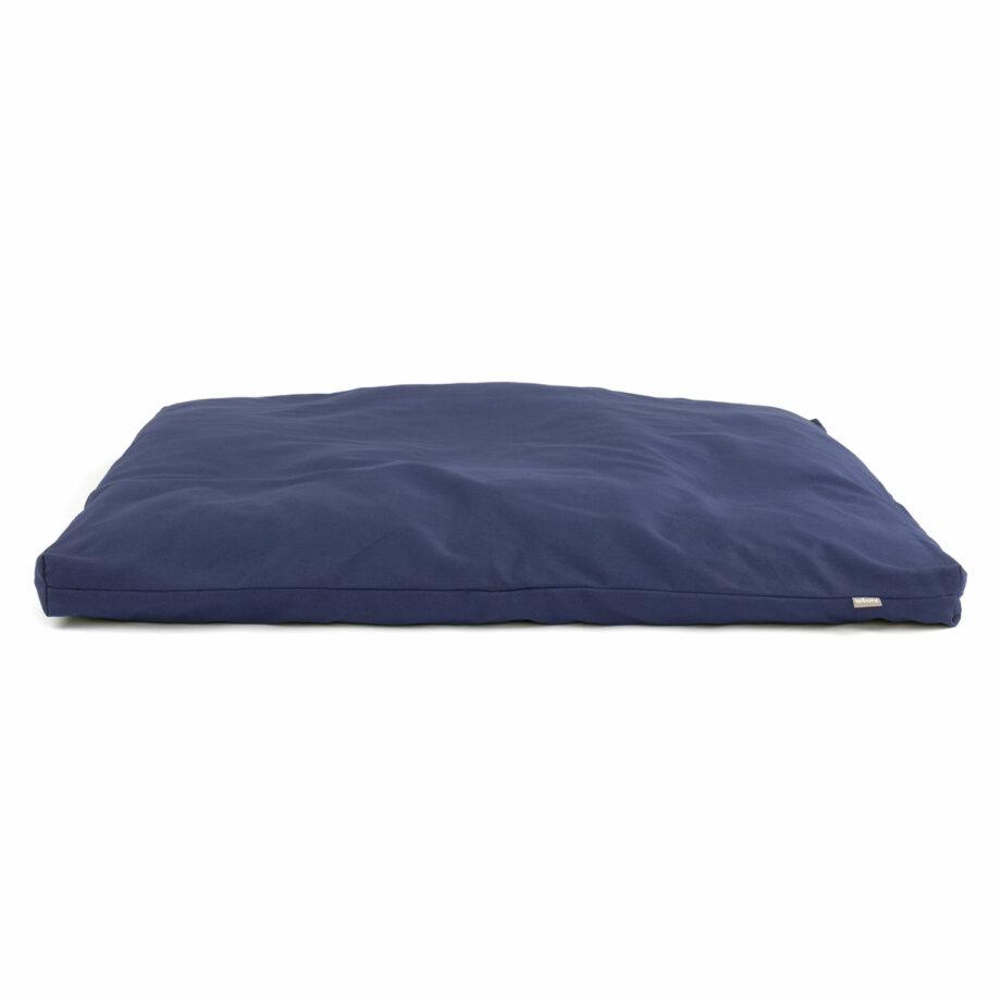 matelas de meditation zabuton bleu