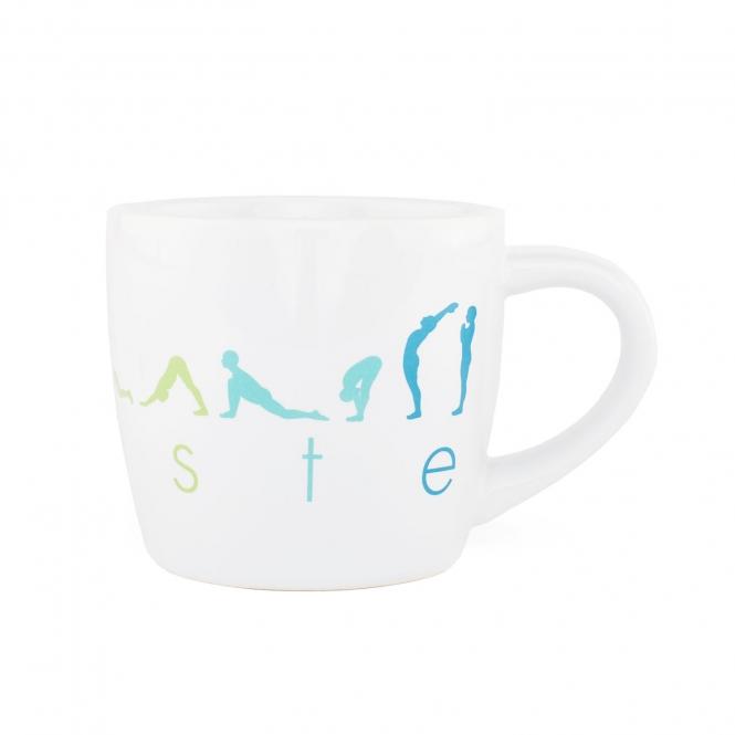 tasse en ceramique mug happy namaskar
