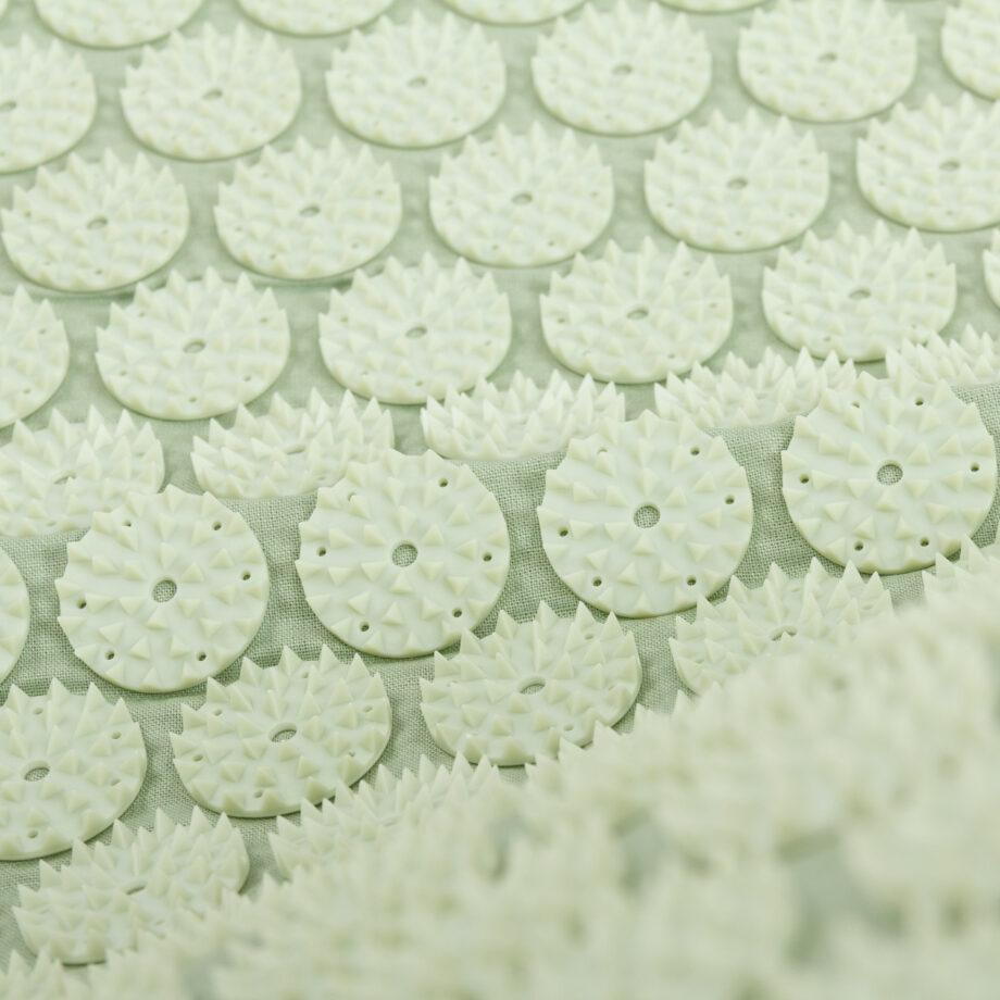 tapis acupression vert