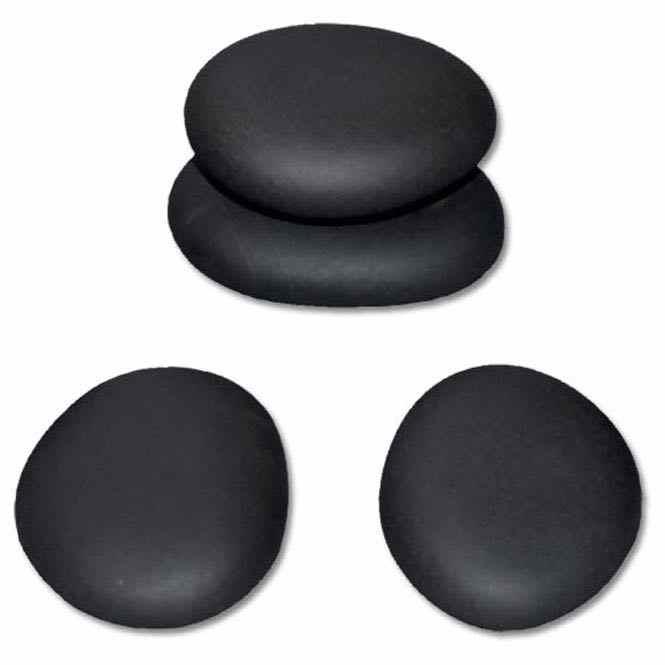 pierres chaudes en basalte moyenne