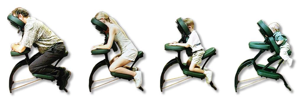 reglage chaise de massage avila earhtlite
