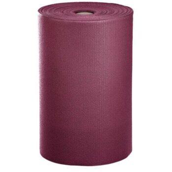 rouleau tapis de yoga asana bordeaux
