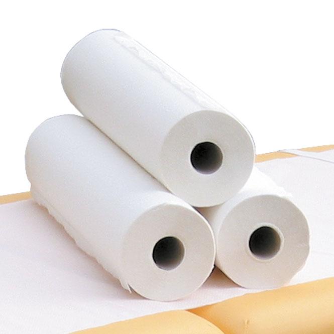 rouleaux papier table de massage