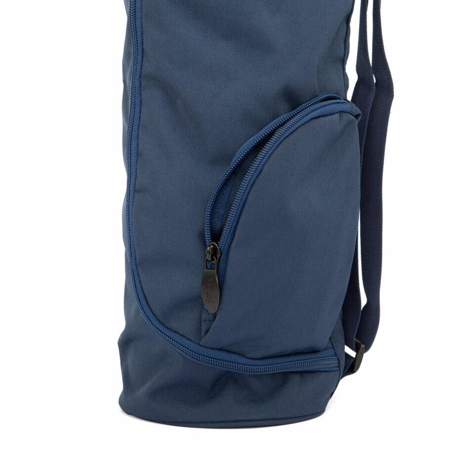 sac tapis de yoga asana bleu