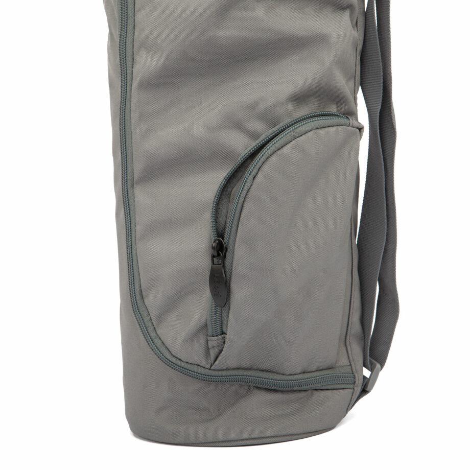 sac tapis de yoga asana gris