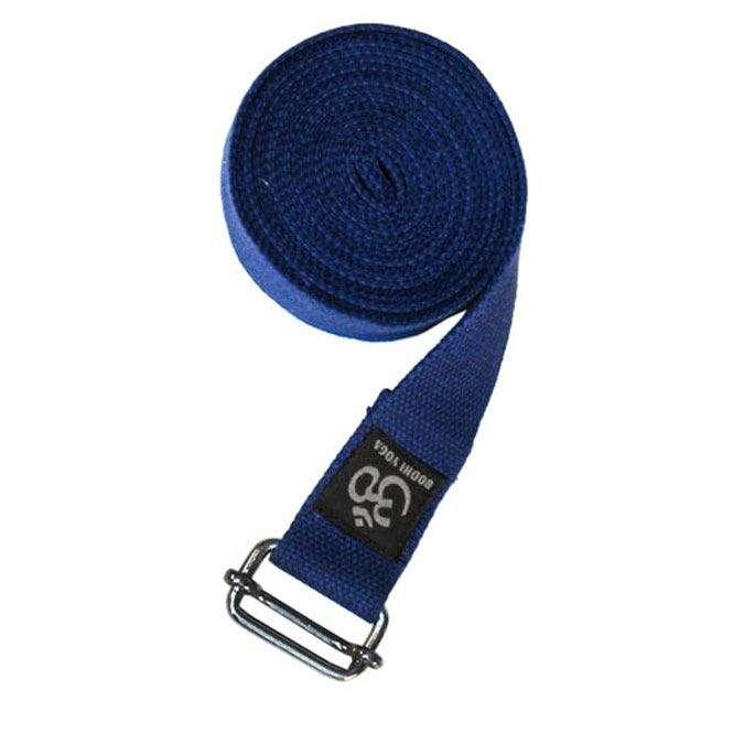 sangle de yoga pro bleu