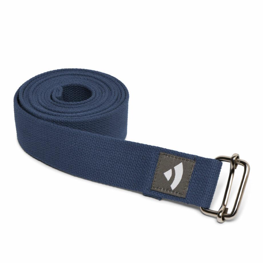 sangle de yoga asana bleu