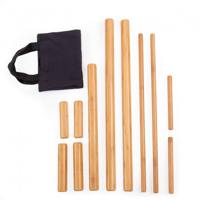 set de bambou massage
