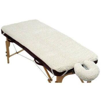 set de protection en polaire style peau de mouton